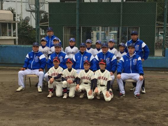 座間市スポーツ少年団軟式野球教室