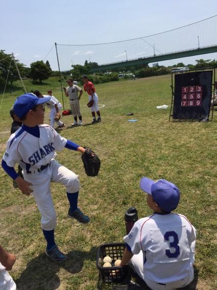 2016年学童野球体験会③