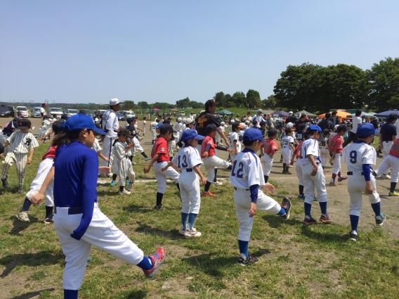2016年学童野球体験会①