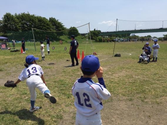 2016年学童野球体験会②