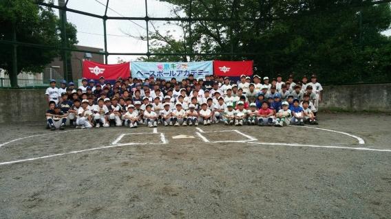 2016年7月県学童野球教室③