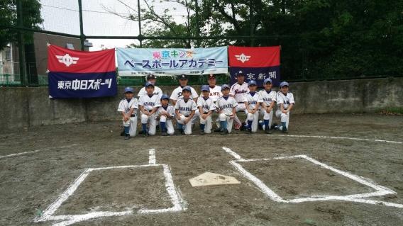 2016年7月県学童野球教室②